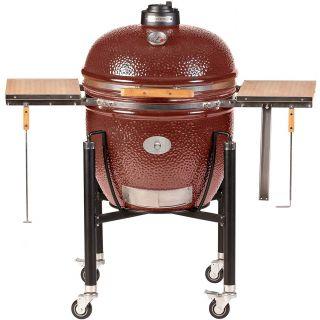 Barbecue Monolith LeChef Pro-Series 1.0 Rosso con Carrello