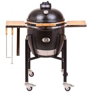 Barbecue Monolith Classic Pro-Serie 1.0 Nero con Carrello