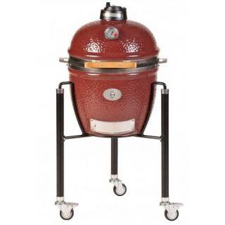 Barbecue Monolith Junior Rosso con Carrello