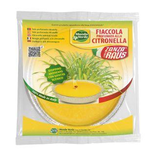 Fiaccola Stagnola Citronella 17 cm - Mondo Verde