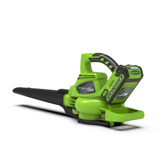 Soffiatore Aspiratore GD40BVK4 completo di Batterie e Caricabatteria - GreenWorks