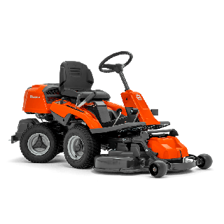 Trattorino Rider Husqvarna R 214C - Piatto di Taglio 94 cm Incluso